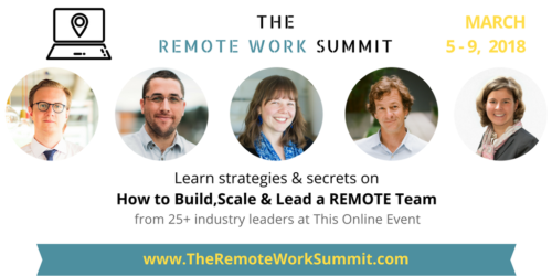 Nicole Le Maire speaks at The Remote Work Summit